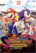 Mario and Sonic at the London 2012 Olympic Games promotional image