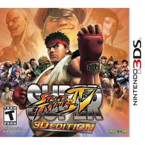 Super Street Fighter IV 3D cover