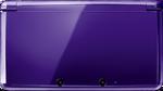 Midnight Purple 3DS closed
