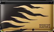 Nintendo 3DS XL Monster Hunter 4 Rajang Gold