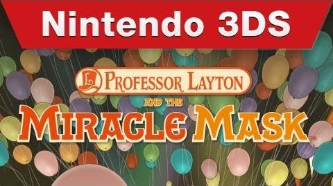 Professor Layton and the Miracle Mask - English Nintendo Direct trailer