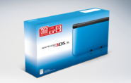 Nintendo 3DS XL NA blue box art