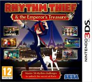 Rhythm Thief European box art