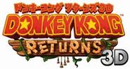Donkey Kong Country Returns 3D JP logo