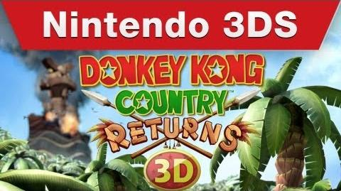Donkey Kong Country Returns 3D - TV Commercial