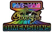Pac-Man and Galaga Dimensions logo