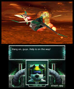 Star Fox 64 3D screenshot 24