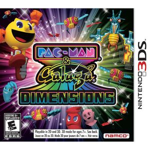 Pac-Man & Galaga Dimensions box art