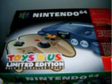 Limited Edition Toys'R'Us Gold Console