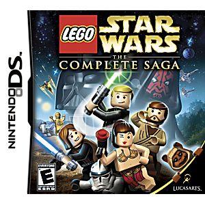 Lego star wars complete saga ds