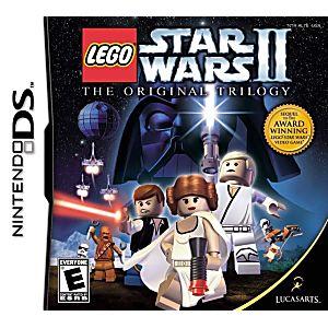 Lego star wars 2 original trilogy ds