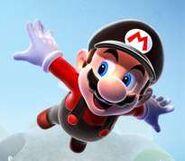 Flying Mario Artwork