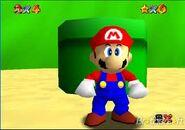Mario in SM64