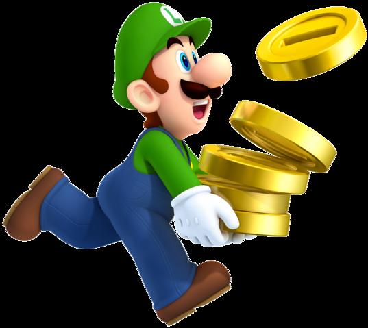 File:Luigi, New Super Mario Bros. 2.png