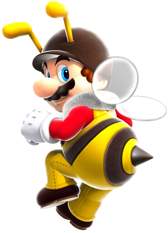 File:Bee Mario Artwork - Super Mario Galaxy.png