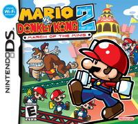 Mario vs Donkey Kong 2 March of the Minis (NA)