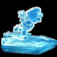 Ice Mario Artwork - Super Mario Galaxy