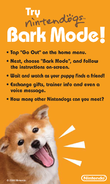 Card nintendogs barkmode