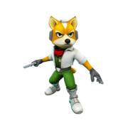 Fox McCloud 3d
