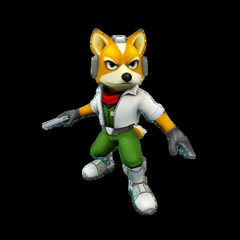 File:Fox McCloud 3d.png