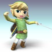 Smash Bros Brawl Toon Link