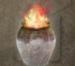 Burning Oil Jar