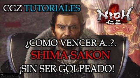 ¡Como Vencer a Shima Sakon Sin Ser Golpeado! - Título- Triturador de Shima Sakon 😱