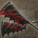 Dual Bloodstained Hatchets