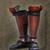 Sanada Crimson Armour Suneate