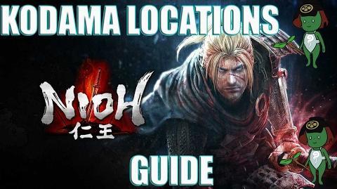 Nioh The Three Angry Gods Kodama Locations