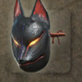 Black Fox Mask