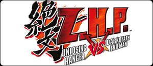 Z.H.P. Unlosing Ranger VS Darkdeath Evilman Logo