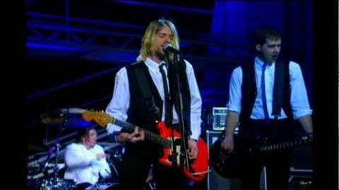 Nirvana - Drain You HD (Live on French TV 1994)