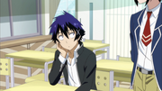 Seishirō asking Raku to talk