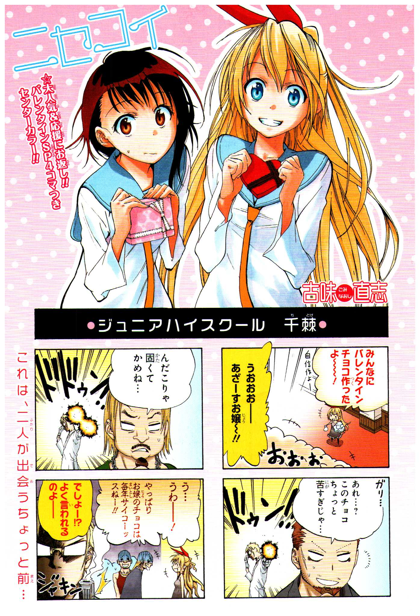 Image - Nisekoi Chapter 13 Cover.jpeg | Nisekoipedia | FANDOM ...