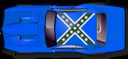 Medium blue gen beau