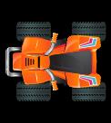 Orange ATV