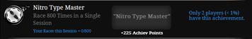 Nitro type master