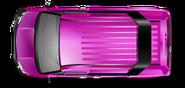 Pink B Team Van