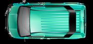 Turquoise B Team Van