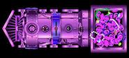 Purple Gilded Xxpress
