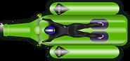 Green Floaty Blue