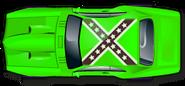Lime green gen beau