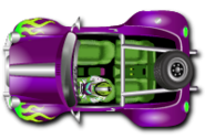 Purple Blazing Buggy