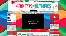 NitroType Olympics Screenshot