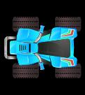 Light blue ATV