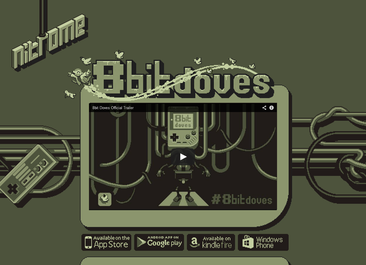 8bit Doves website | Nitrome Wiki | FANDOM powered by Wikia