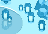 Group of penguins - Winter skin