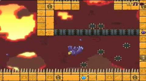 Nitrome temple glider - level 18 walkthrough