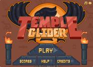 Temple Glider menu